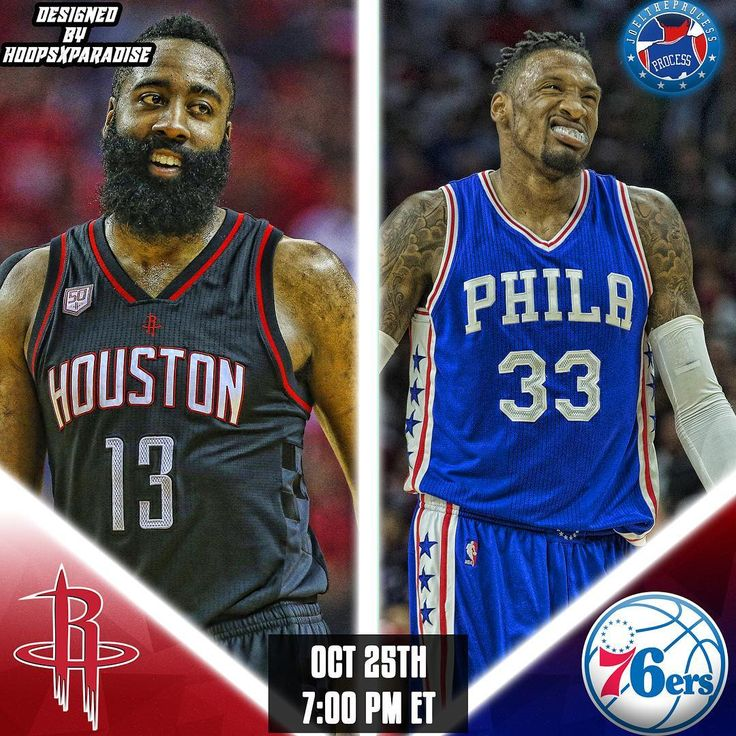 Its Gameday: The #Sixers (1-3) host the #Rockets (3-1) as they look for their 2nd win of the season!   7 pm ET Wells Fargo Center  NBCSP 97.5  Injury Report: R. Holmes (out-wrist) M. Fultz (out-shoulder) #Doubletap for a win! #GoSixers #JoelTheProcess Score predictions?
