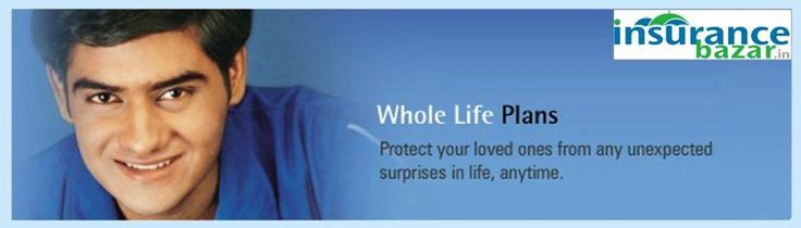 Whole Life Insurance is the most common form of permanent life insurance. Whole life insurance risk covers the death of the insured, whenever it may happen. For More Details Visit www.insurancebazar.in