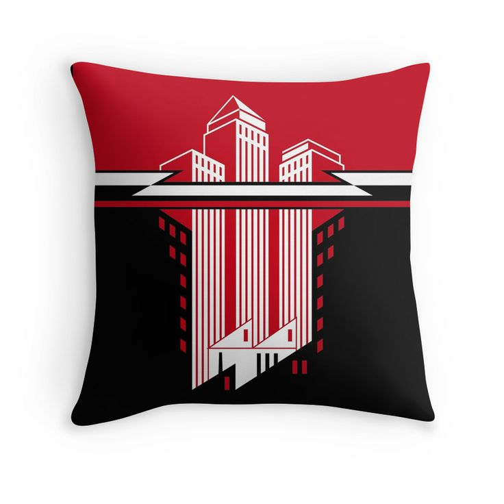 """Wolfenstein"" Throw Pillows by Remus Brailoiu 