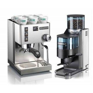 Rancilio Espresso Machine   Rancilio Rocky Grinder   1st in Coffee