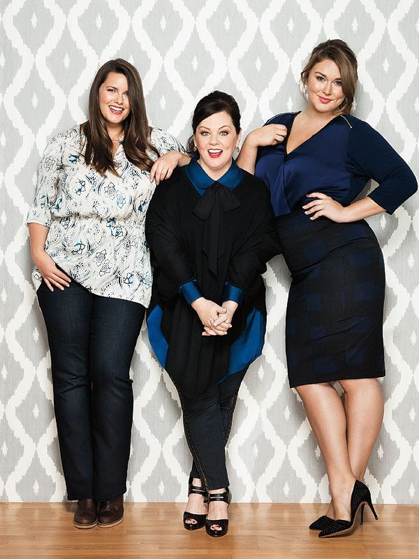 Melissa McCarthy Debuts New Clothing Line. For more inbetweenie and plus size fashion ideas go to www.dressingup.co.nz