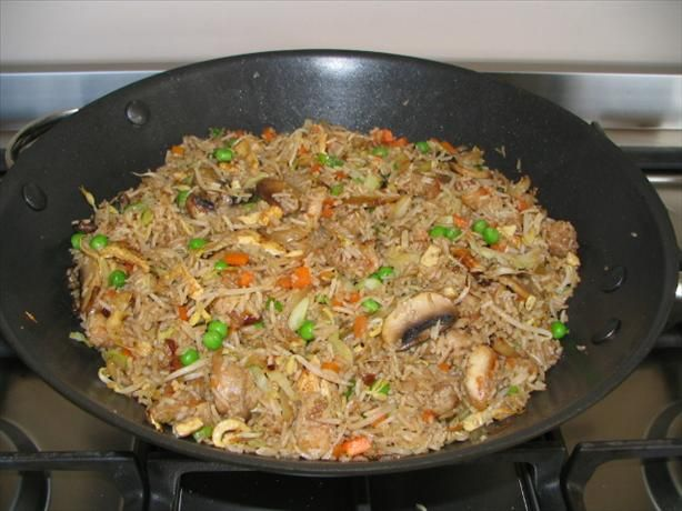 Fried rice to go along with all the chinese recipes I've pinned!