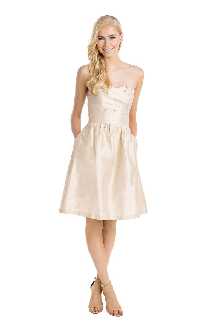 82 best images about wedding fashion on pinterest groom style a short shimmering silk bridesmaid dress with sweetheart neckline and pleated front affordable ombrellifo Choice Image