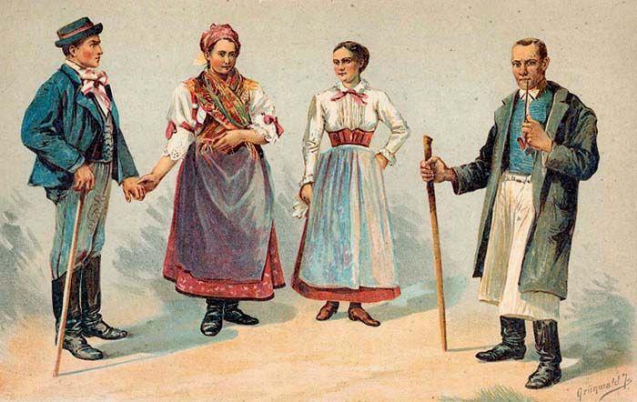 Vas megye népviselete - Hungary