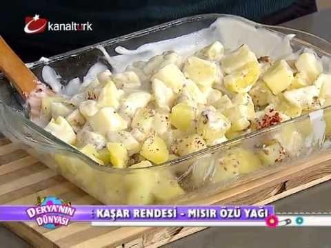 Fırında Beşamel Soslu Patates Tarifi - YouTube
