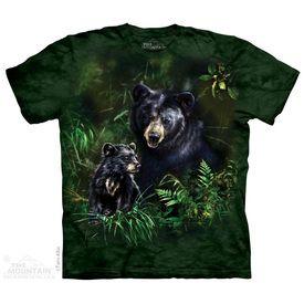 Black Bear And Cub T-Shirt