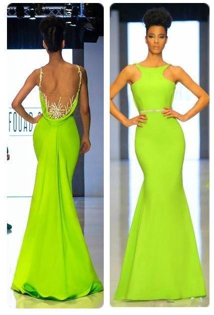 Fouad sarkis designer evening dresses