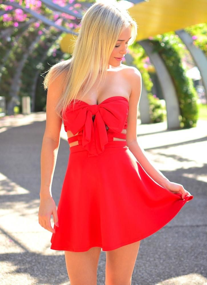 25 best images about Little Red Dress on Pinterest | Back dresses ...