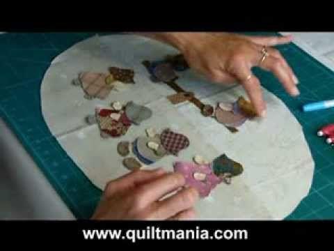▶ Bloc 5 - Quilt Mystère 2013 - Reiko Kato- par QUILTMANIA EDITIONS - YouTube