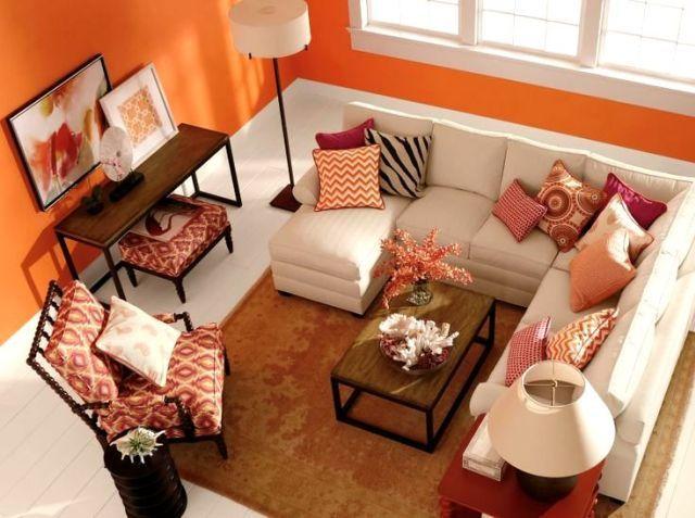 Die besten 25+ Orange dinning room furniture Ideen auf Pinterest - wohnzimmer orange schwarz