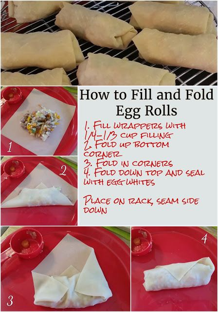 Egg Rolls in the NuWave Oven