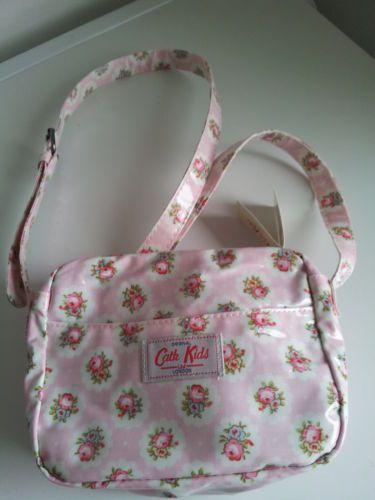 Cath Kidston Bag Girls Handbag Circle Ditsy Pink Oilcloth Bag | eBay