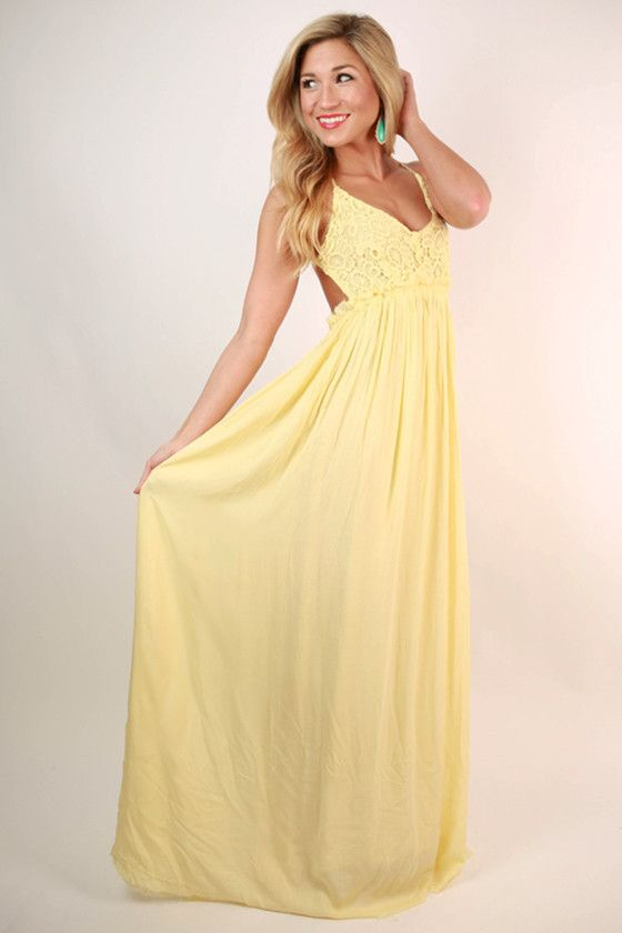 Make your entrance in this dreamy maxi! The Grand Reveal is a staff and customer favorite for a reason!