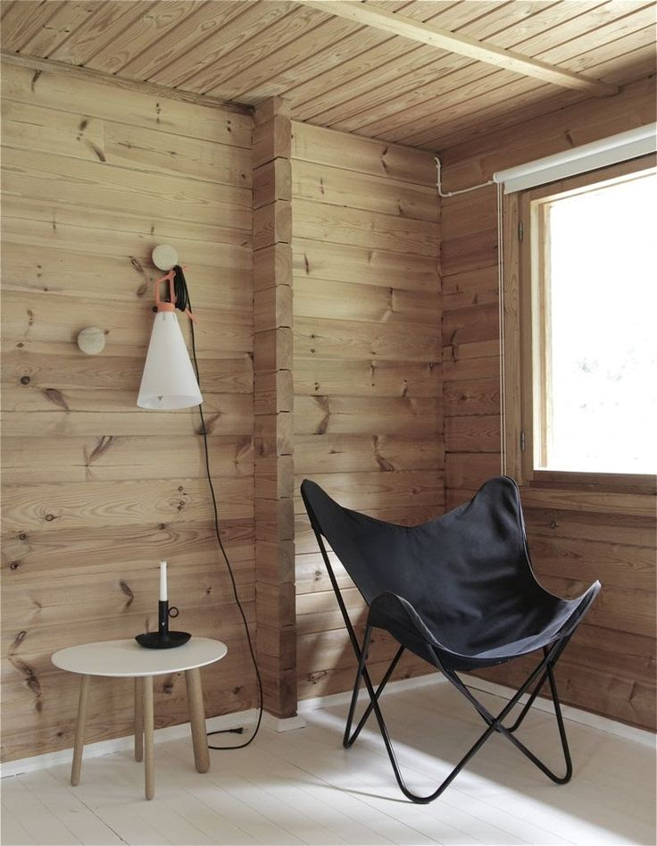 summer cabin of time of the aquarius #wood #white_floors