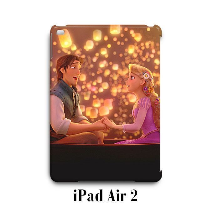 Rapunzel Tangled Lanterns Romance iPad Air 2 Case Cover Wrap Around