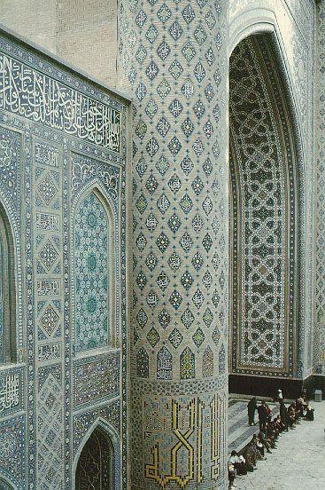 Gauhar Shad interior. Yemen. #mosaic #tile #architecture