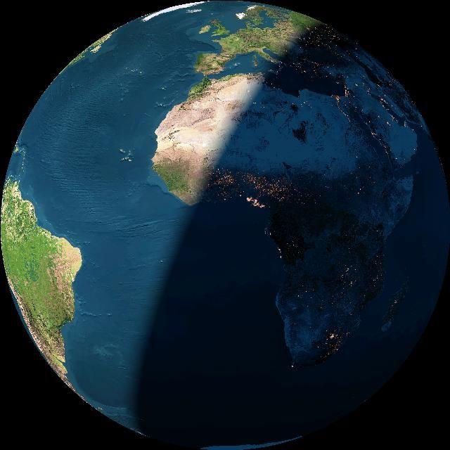 La Tierra desde el espacio. Astronomia y Ciencias del Cosmos. AstroRED (v10). Tu portal de Astronomía en español