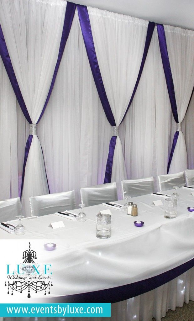 10 best purple and white wedding decor images on pinterest lilac purple and white silver package wedding decor in london ontario junglespirit Choice Image