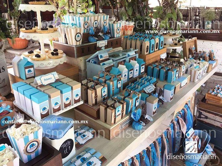 164 best images about mesas de dulces on pinterest for Mesa de dulces para bautizo de nina