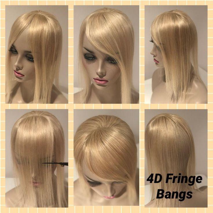 4D FRINGE BANGS (4 Styles in 1) Kleiner Topper Fring + # Bang #Bangs #clip #Etsy #Fri ...