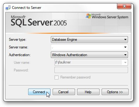 We have previously covered a simple SQL database restore using the command line which is ideal for restoring backup files created on the same SQL Server installation, however if you are restoring a backup created on a different installation or simply prefer a point and click interface, using SQL Server Management Studio (or the Express edition) makes this task easy.