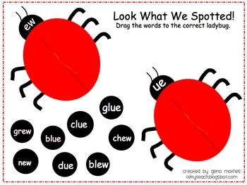 Students will sort for ew/ue words. This can also be changed to whatever word sort you would like to do. ...Words Sorting, Fun Activities, Education Reading, Ladybugs Words, Smartboard Activities, Words Families, Ew U Smartboard, Free Smartboard Phonics, Smart Boards