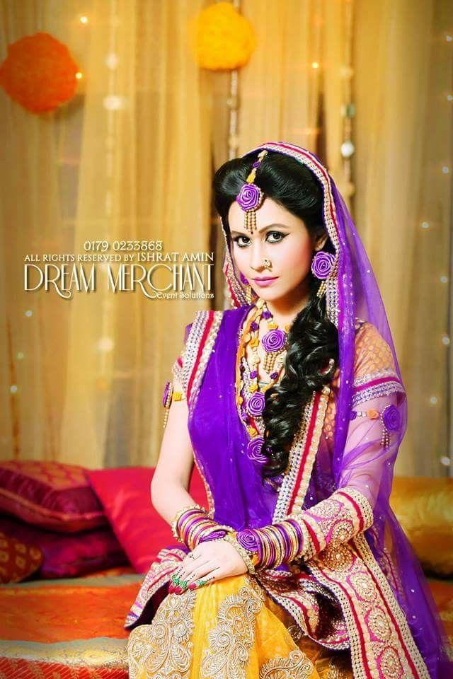 Bangladesh bride #gaye holud#Bengali bride