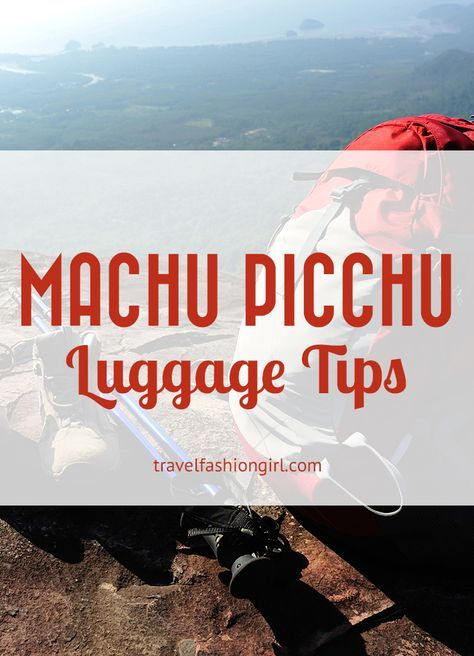 Wondering where to leave your luggage while doing the trek to Machu Picchu? Find out!