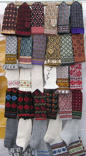 Never enough fair isle mittens!