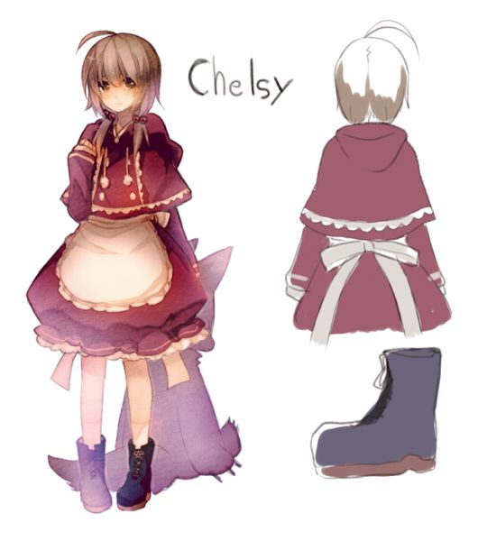 Alice mare character design Chelsy