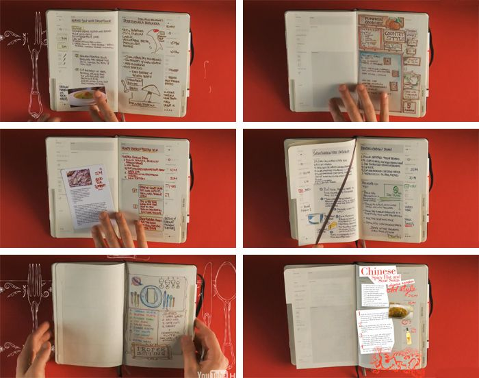 recipe journal- I'm so doing this!