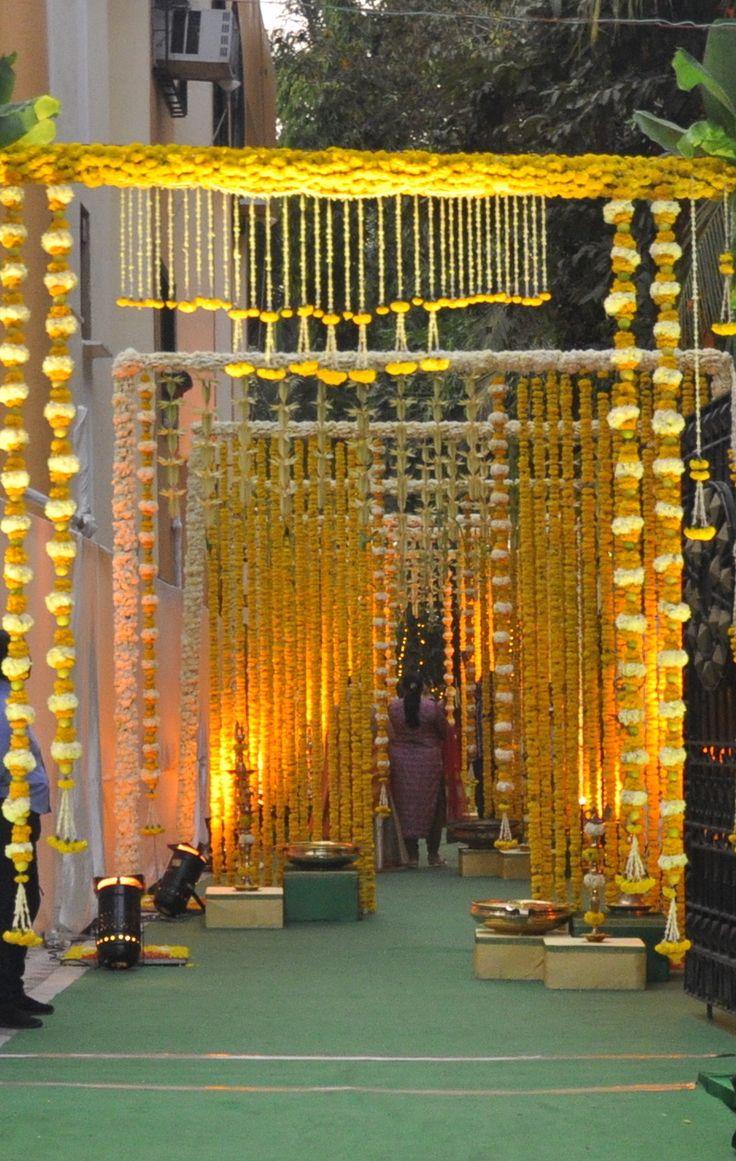 South Indian Theme Mehendi - Bespoke Designs