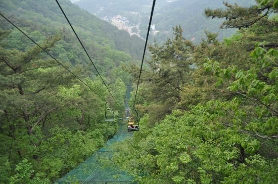 Cable car, Mudeng-san Gwangju