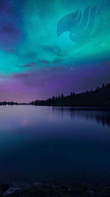 Papel de Parede – Fairy Tail – Night Sky