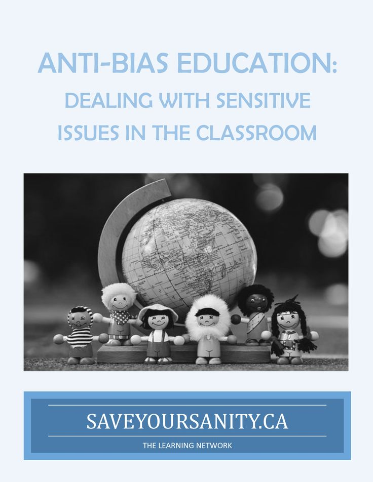 """ANTI-BIAS EDUCATION: Dealinng with Sensitive Issues. What do you say when children are being bullied about their sexuality or race? Are you willing to stand up and protect all your children in the classroom? Sometimes we are silent when someone says """"that is so gay"""". How does something that seems so small impact another child or student? This free seminar will give you ideas and strategies on how to deal with those sensitive issues that may be arising in your classroom."""