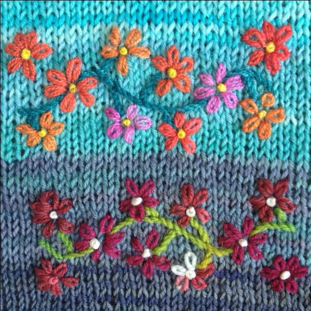 Borduren op breiwerk is hip, het is leuk en zo maak je iets bijzonders van je trui, muts, handschoen of sokken. Leer op deze workshops de tips en trucs.