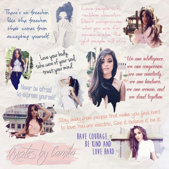 Camila Quotes - Fifth Harmony