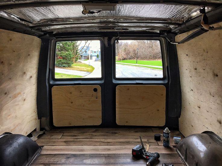 Astro Van Interior