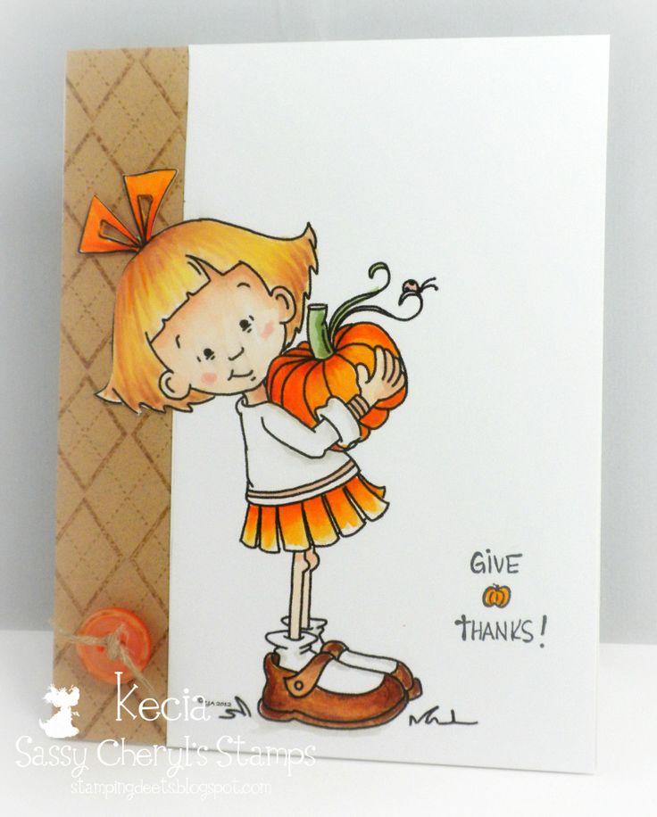 Stamping Deets: Fall Pumpkin