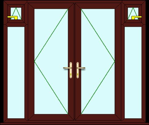 Upvc French Doors by Just Value Doors