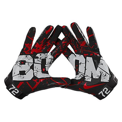 Nike Vapor Jet Boom Football Gloves via NIKEiD