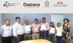 Vigilan comités ciudadanos uso de recursos públicos en Oaxaca: Contraloría
