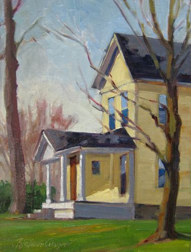 30 best images about paintings of ann arbor and saline for Oil paintings of houses