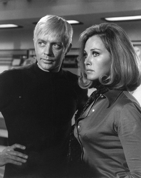 UFO TV Show with Ed Bishop as Ed Straker and Wanda Ventham as Col Virginia Lake (Benedict Cumberbatch's mum!)