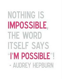 Words of wisdom from Audrey Hepburn