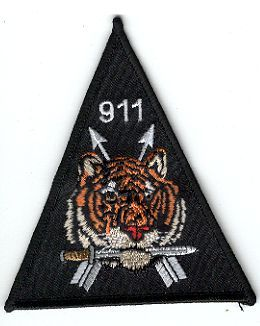 19th Special Forces Group Pocket Patches Operational Detachment A-911 A Company, 1st Battalion Type 1