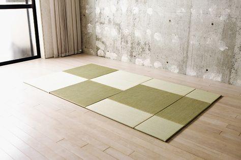 OKI TATAMO!|組み換え自由な置き畳|ローソファ通販 HAREM