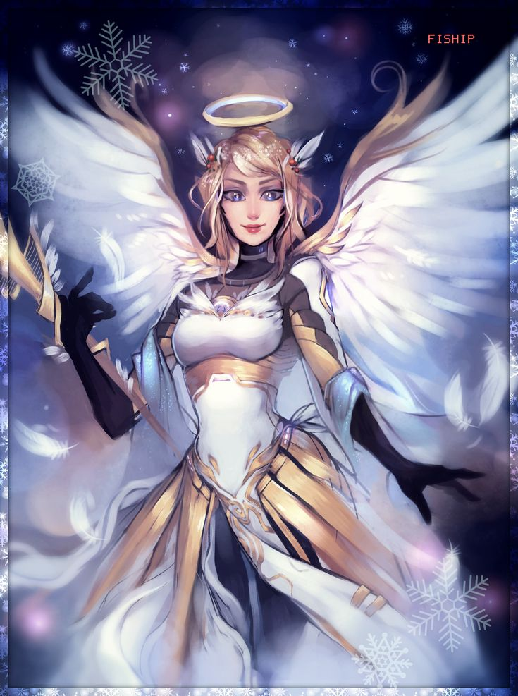Illustration de Matilda Vin | Overwatch, Overwatch mercy and ...