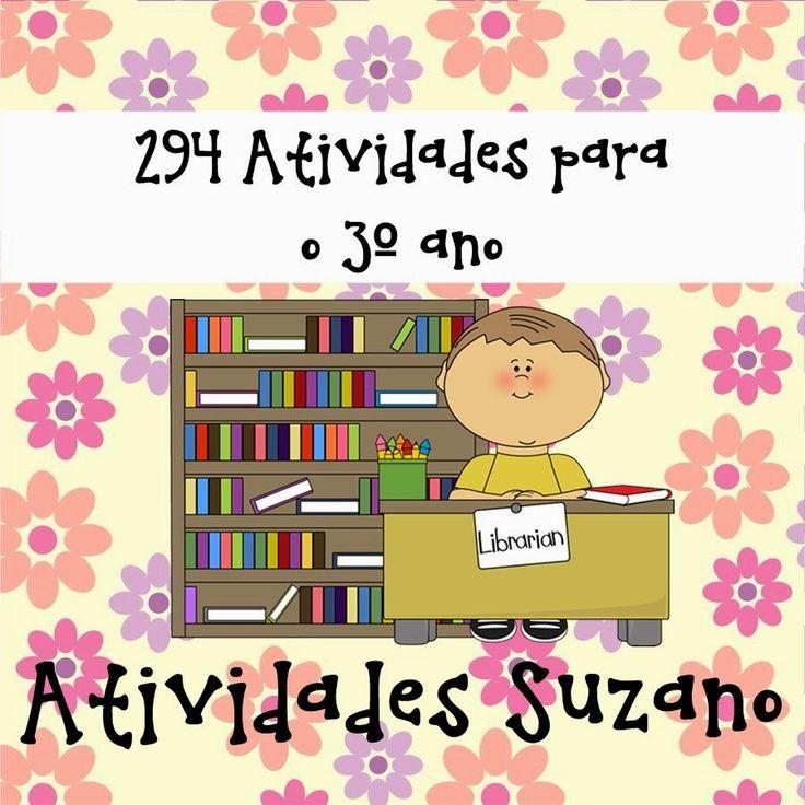 Atividades Suzano : 294 atividades 3º ano