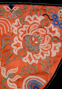 The Forbidden Stitch in Chinese Embroideries
